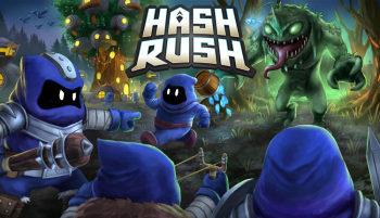 Hash Rush - Sci-Fi RTS cosmic colony mining game