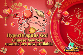HyperDragons Go! Chinese New Year rewards are now available