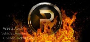 PGL token burn event