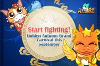"Start fighting with ""HyperDragons Go!"" during the September Carnival!"