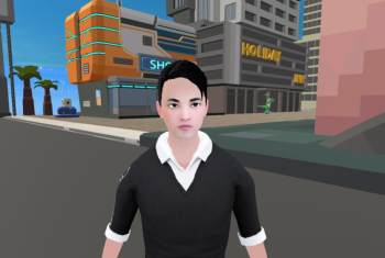 NeoWorld Introduces the First-ever Real Person in Virtual World with Wolf3D
