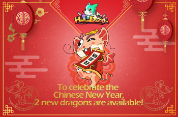 To celebrate the Chinese New Year,2 new dragons are available!