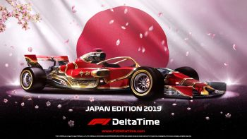 Fourth F1 Delta Time auction for the Japan Edition 2019 car will kick off 14 October