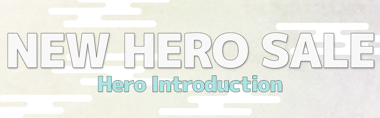 [tips]New Hero Introduction Nov 12th. Released