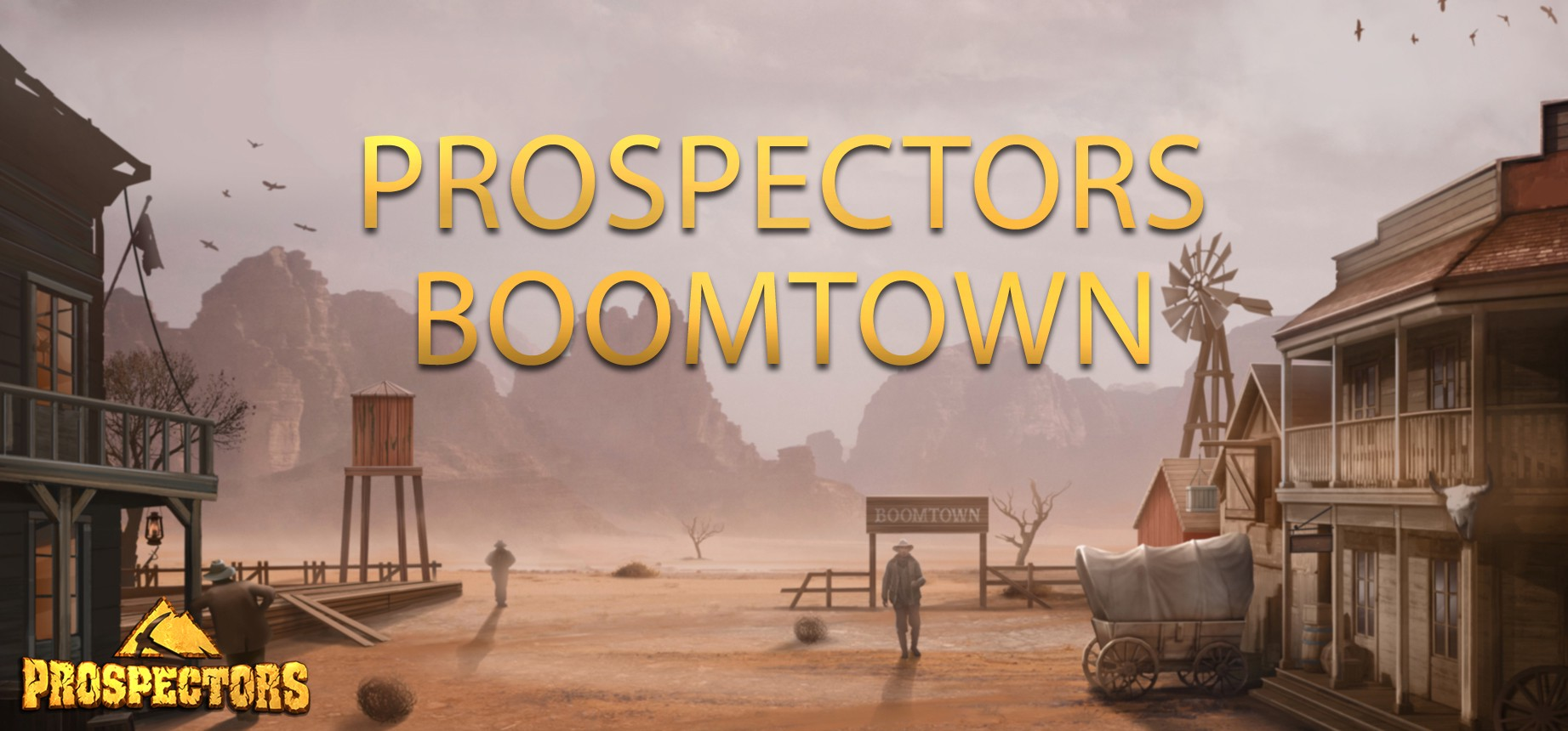 The Very First Boomtown of Prospectors: a gold rush challenge