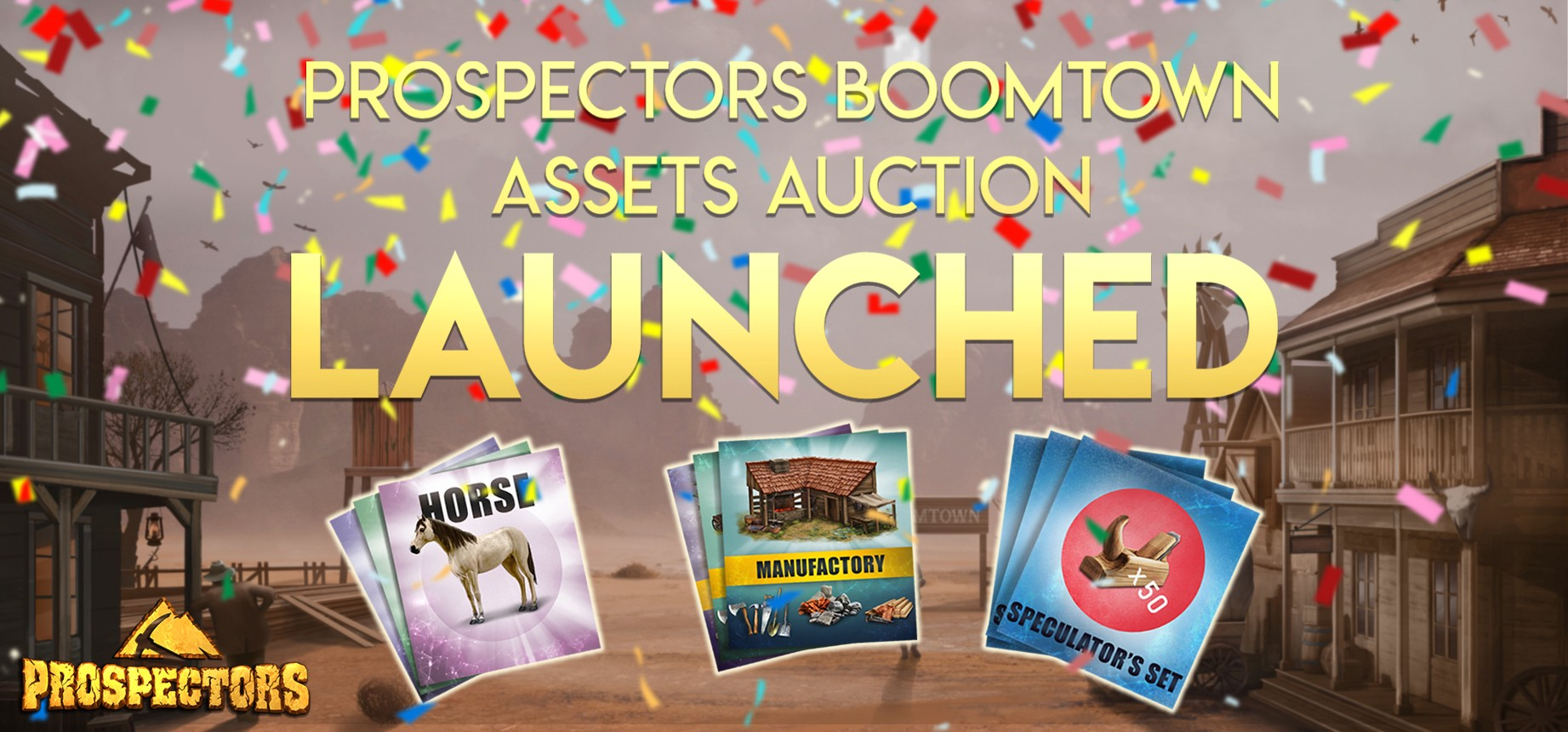 The Boomtown Assets Auction is launched
