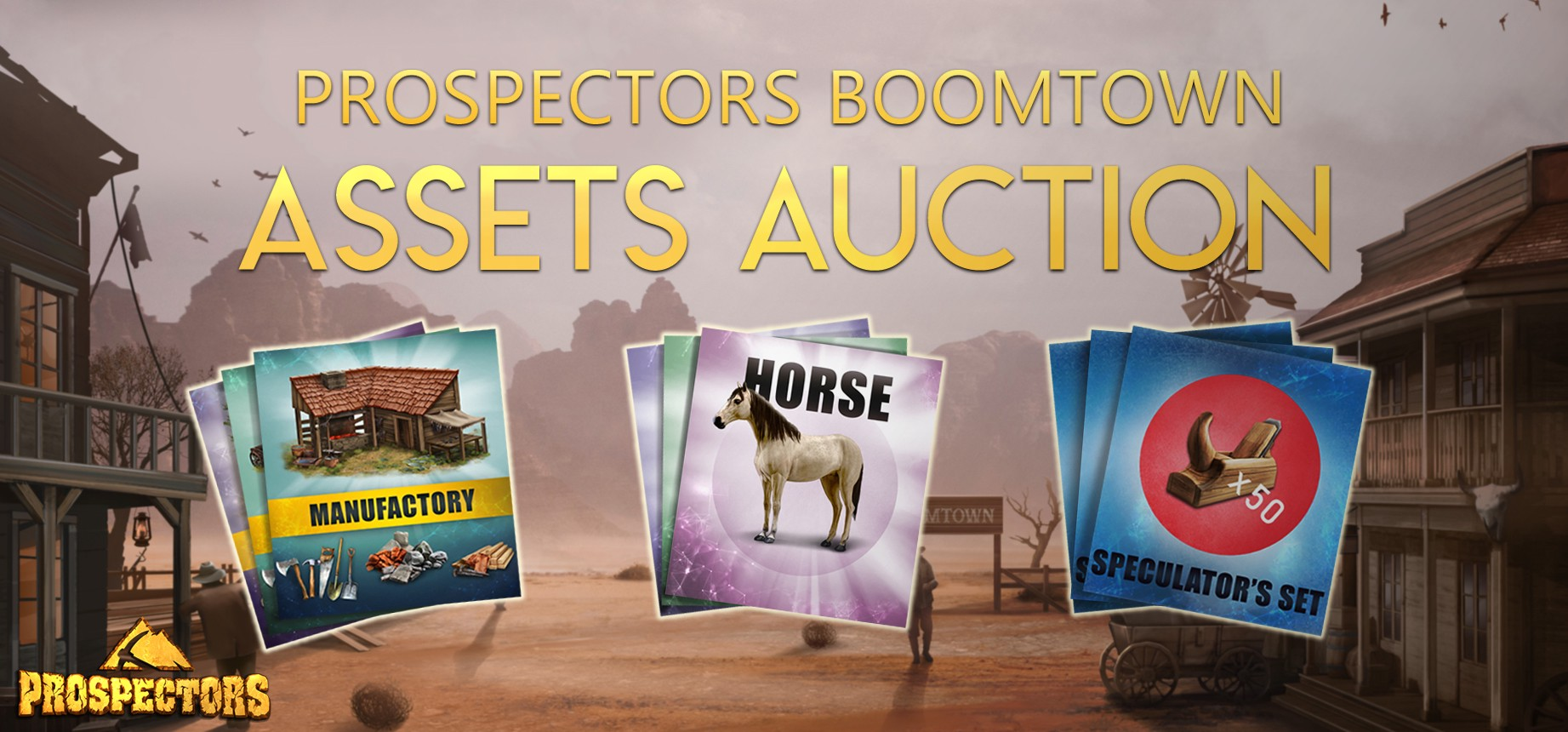 Everything you need to know about the Boomtown assets auction