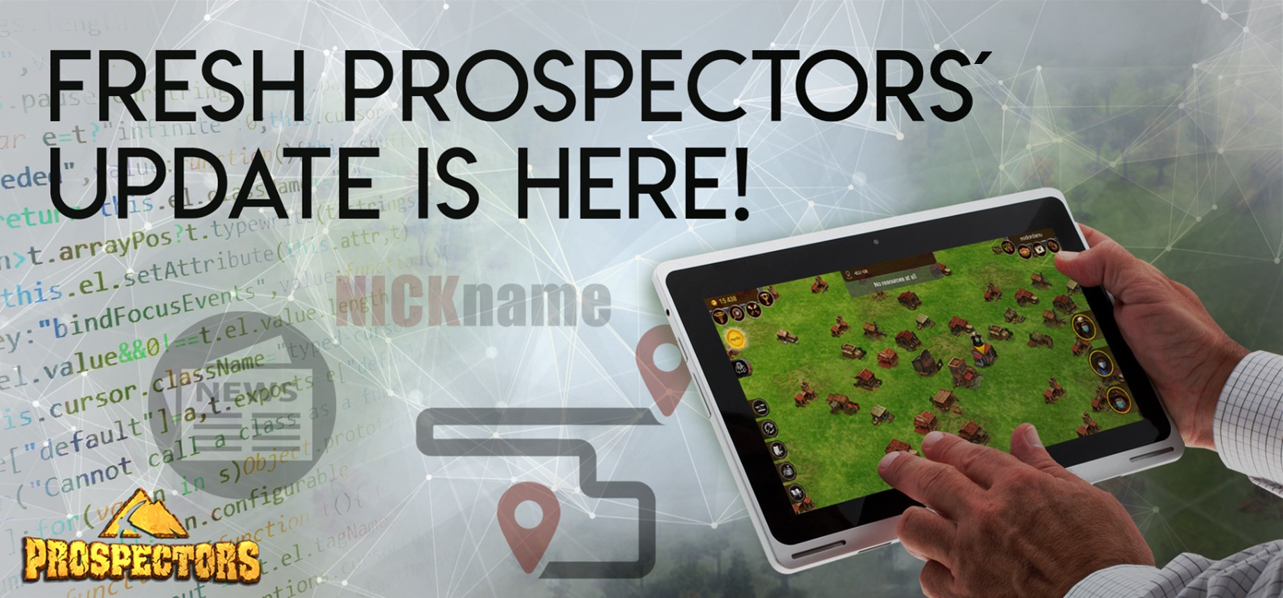 Nicknames, live news, and more — fresh Prospectors' update is here!