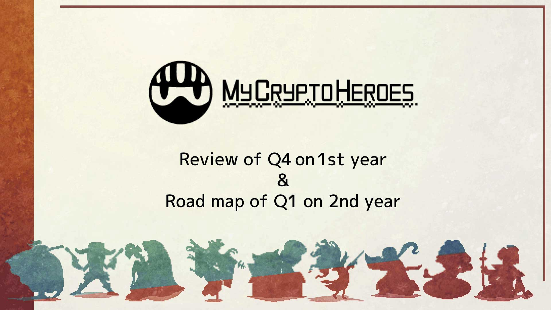 Road map of Q1 on 2nd Year