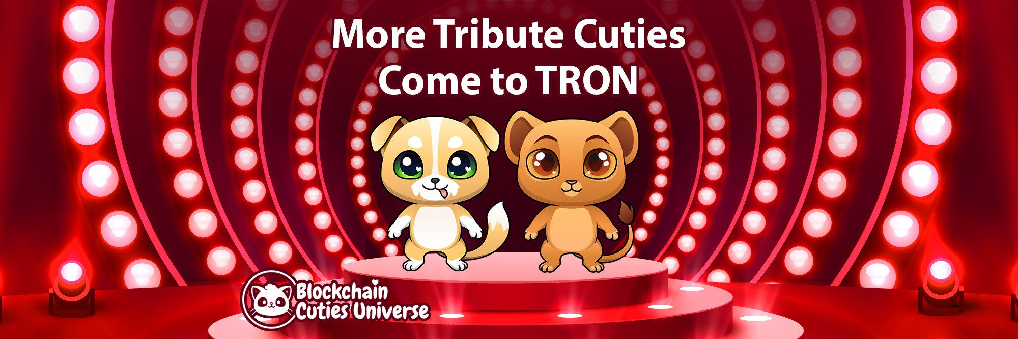 Two More Tribute Cuties Joined TRON