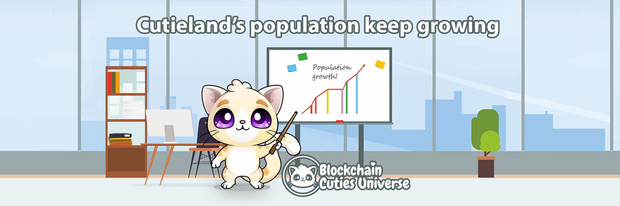 Cutie Population Almost Doubled Since Last Month