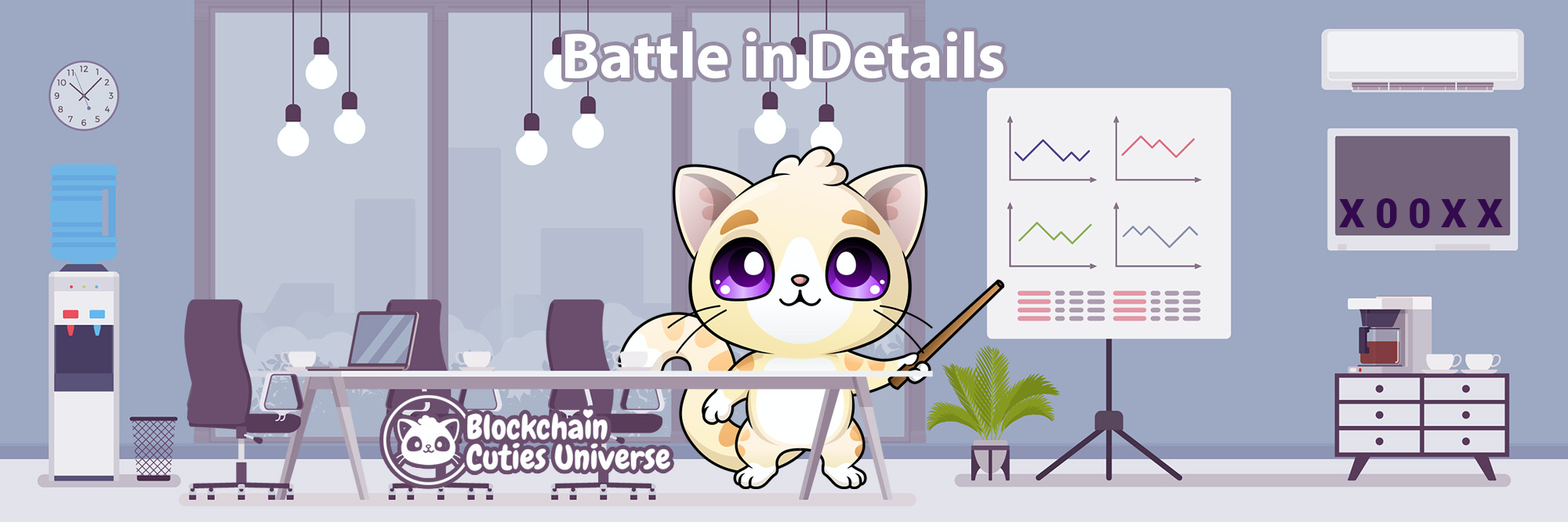 [Blockchain Cuties Universe] The Secrets of Cutie Battles