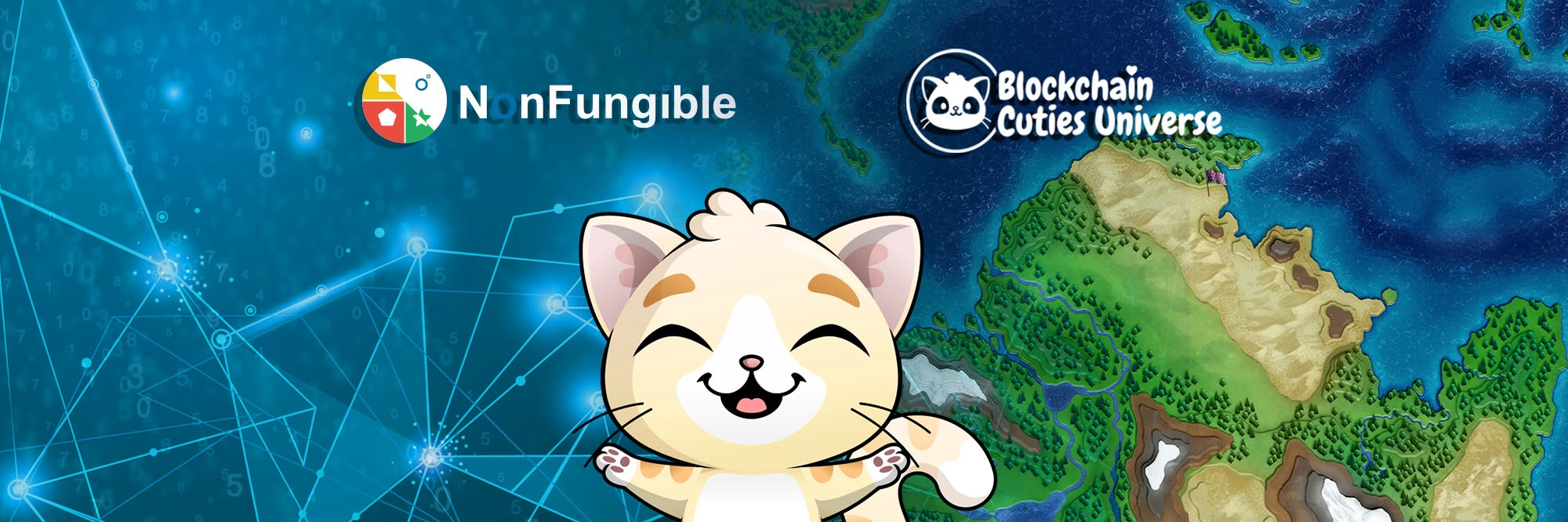 Blockchain Cuties and NonFungible GIVEAWAY