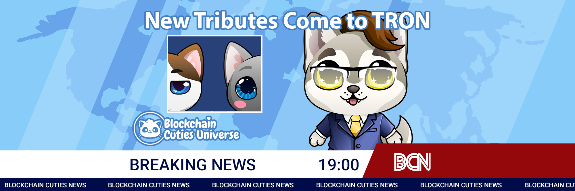 Two New Tribute Cuties Join TRON
