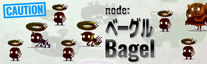 "Welcome new users! ""node: Bagel""!"