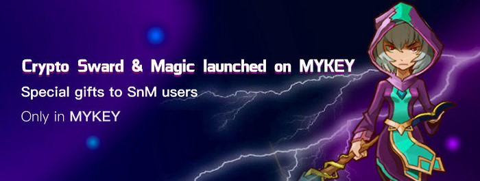 'Crypto Sword & Magic' x MYKEY Special Launch Event