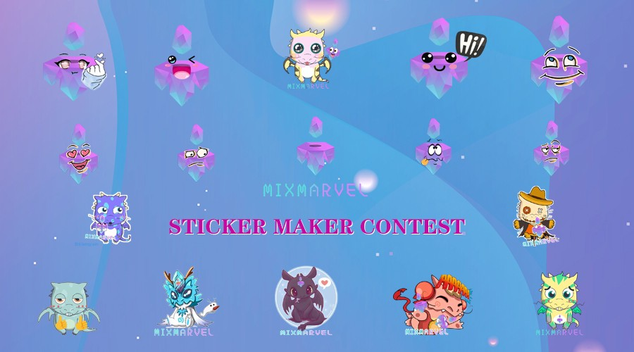 Sticker Maker Contest: MixMarvel Community lifted a new wave of creation