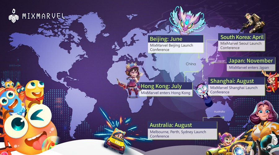 2019 Overview: MixMarvel expanded its global layout and worked towards the mass adoption of blockchain games