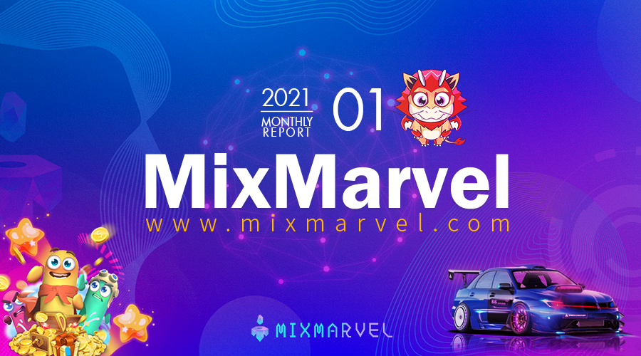 Monthly Report | MixMarvel January 2021